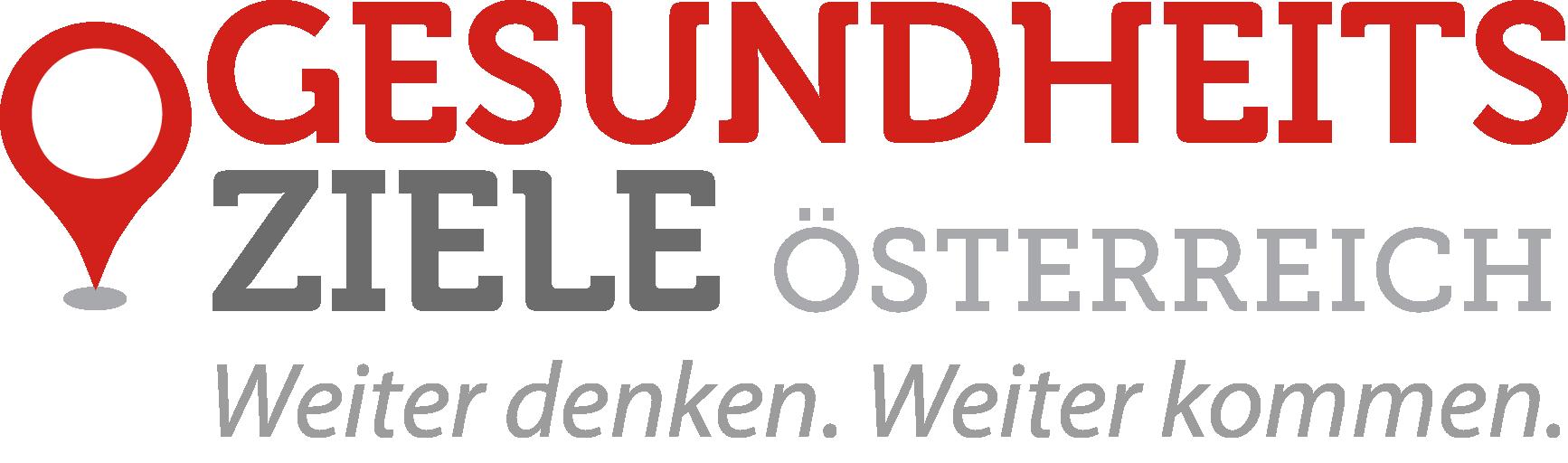 Logo der Gesundheitsziele Österreich Website