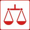 Symbol für den Gesundheitsziele-Bereich: Gesundheitliche Chancengerechtigkeit für alle Menschen in Österreich sicherstellen