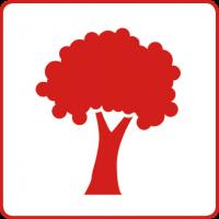 Symbol für den Gesundheitsziele-Bereich: Luft, Wasser, Boden und alle Lebensräume für künftige Generationen sichern