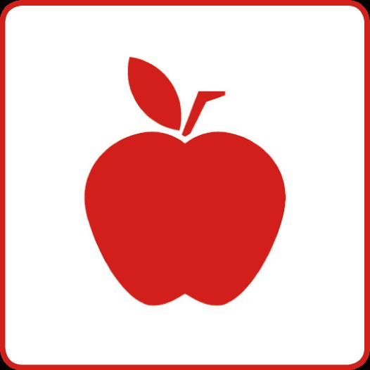 Symbol für den Gesundheitsziele-Bereich: Gesunde Ernährung für alle zugänglich machen