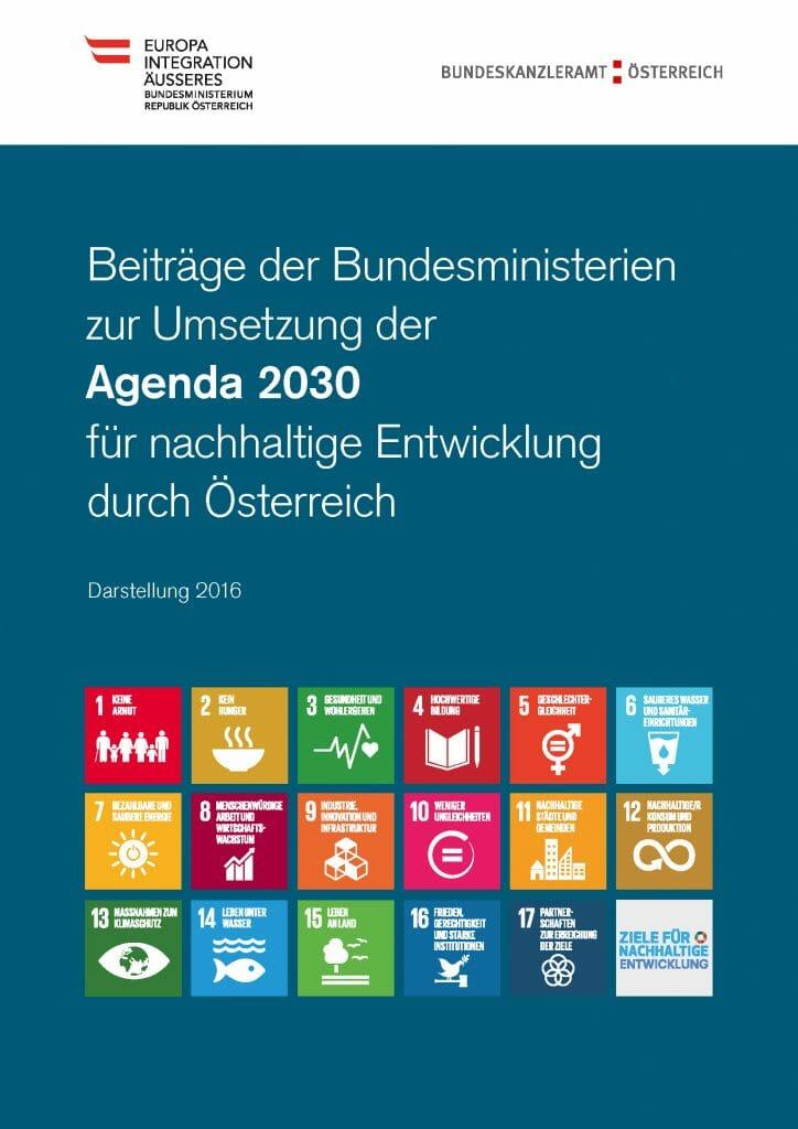 Umsetzung Agenda 2030 Oestereich Darstellung Bka 2016