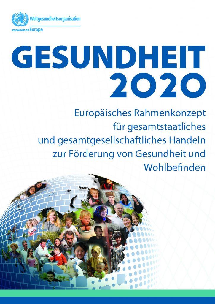 WHO Europa Gesundheit 2020 Kurzfassung