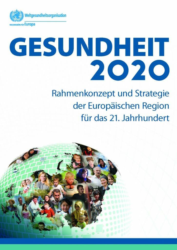 WHO Europa Gesundheit 2020 Langfassung Deutsch