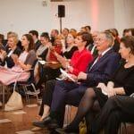 Applaus von hochrangiger Seite nach der Keynote von Nick Fahy (University of Oxford). / © Alexandra Thompson Photography