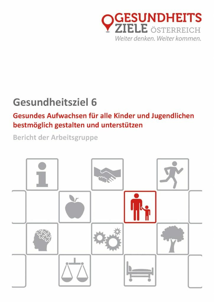 Bericht Arbeitsgruppe 6 Gesundheitsziele Oesterreich Seite 01