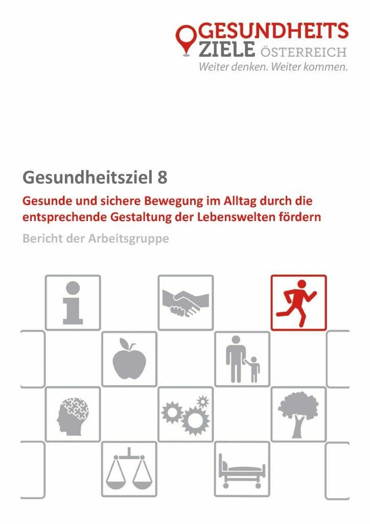 Bericht Arbeitsgruppe 8 Gesundheitsziele Oesterreich Seite 01