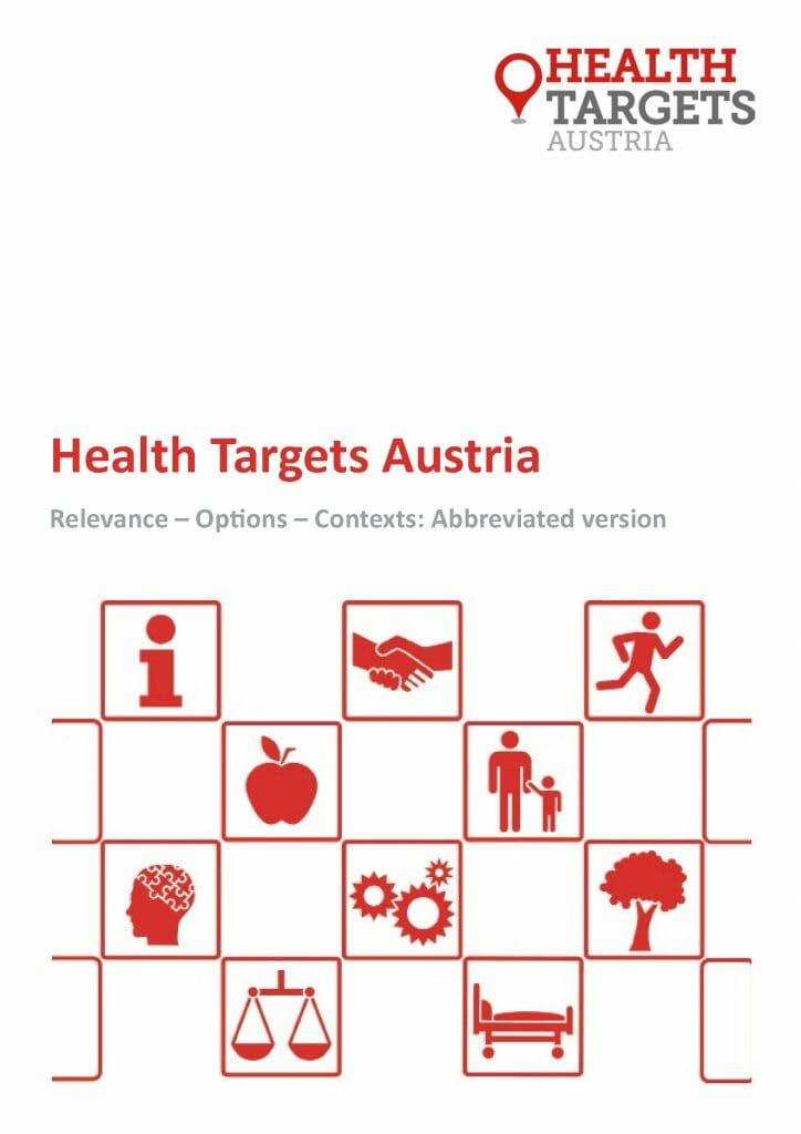 Health Targets Austria