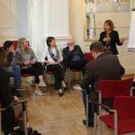 Diskussion in der Kleingruppe / © BSO: Anna-Maria Wiesner