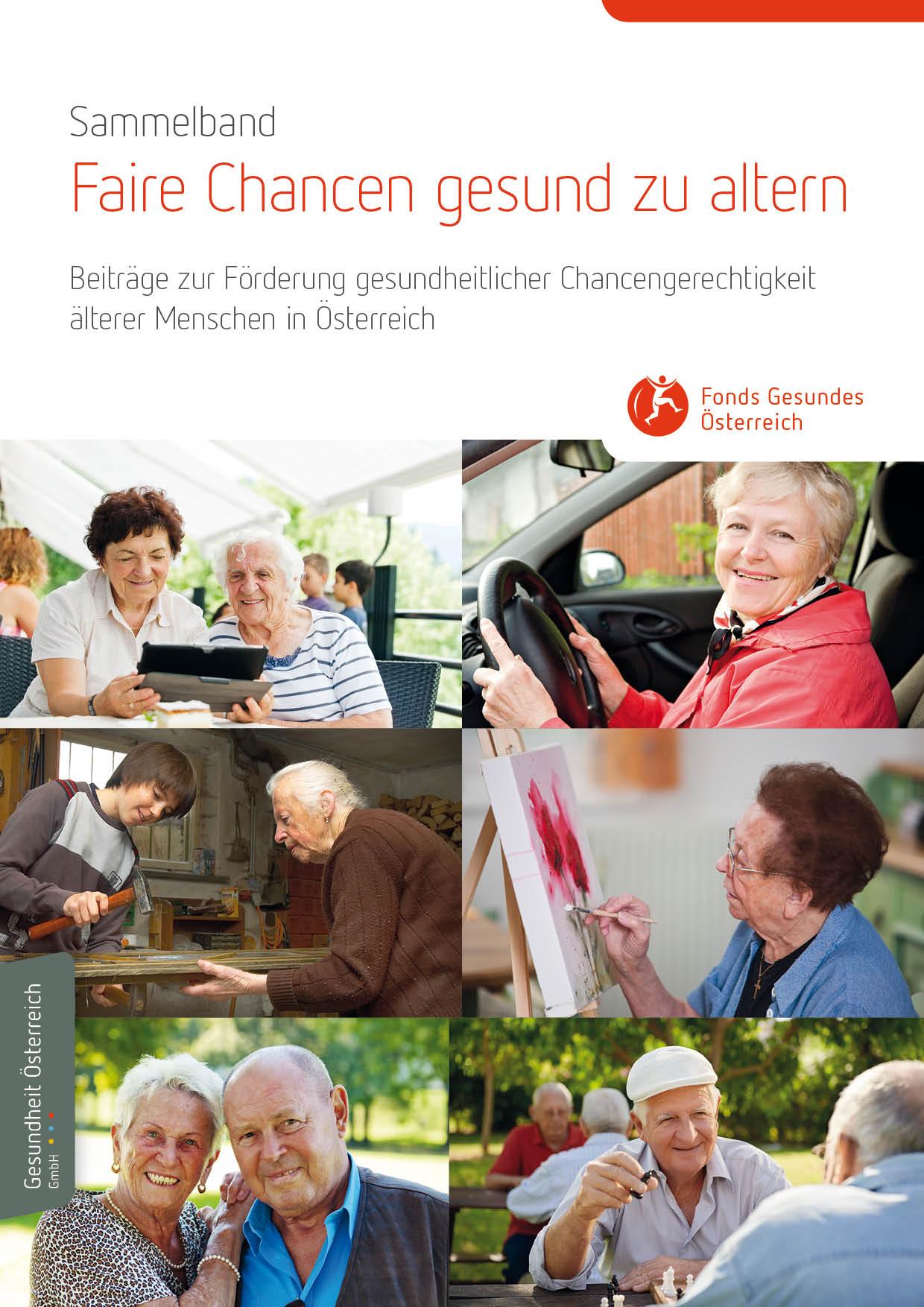 Cover FGÖ Sammelband Faire Chancen / copyright: FGÖ