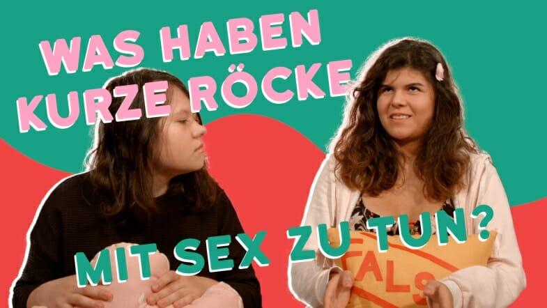 Was haben kurze Röcke mit Sex zu tun? / Copyright: Wiener Programm für Frauengesundheit / Hallo Nachbarn