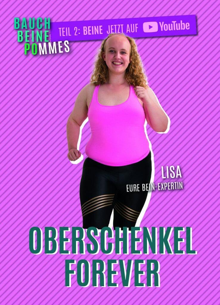 Oberschenkel Forever / Copyright: Wiener Programm für Frauengesundheit / Franziska Kabisch und Sophie Utikal
