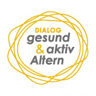 """Logo Dialog """"gesund & aktiv Altern"""""""