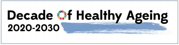 Logo Decade Of Healthy Ageing, copyright: WHO